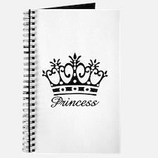 Princess Black Crown Journal