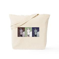 Horse Patriot Tote Bag