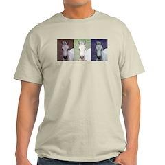 Horse Patriot Ash Grey T-Shirt