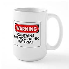 Pornographic Material Mug