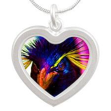 Rainbow Rockhopper Penguin Necklaces