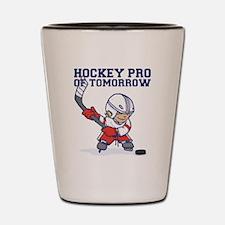 hockey Shot Glass