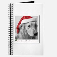 Santa, Let Me Explain Journal