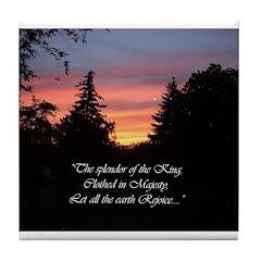 Sunset Splendor Tile Coaster
