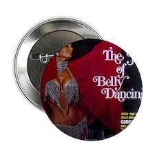 "Vintage belly dance album cover 2.25"" Button"