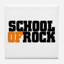 SCHOOLOFROCK Tile Coaster