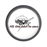 All This Could Be Yours Wall Clock