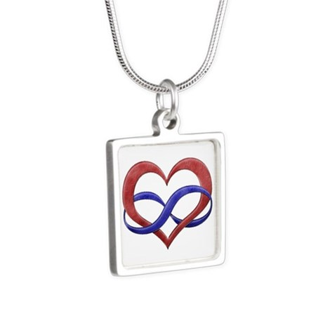 Polyamory Heart Necklaces