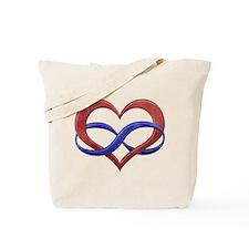 Polyamory Heart Tote Bag