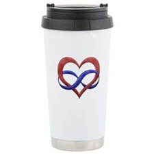 Polyamory Heart Travel Mug