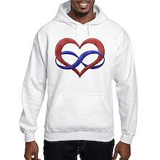 Polyamory Heart Hoodie