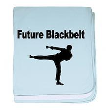 Future Blackbelt baby blanket