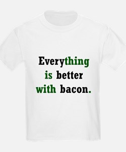 Bacon Lover Kids T-Shirt