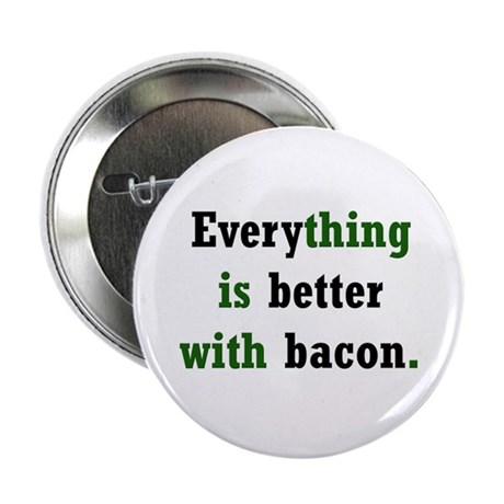 """Bacon Lover 2.25"""" Button (100 pack)"""