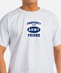 Property of my Friend Ash Grey T-Shirt