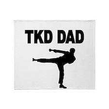 TKD DAD 2 Throw Blanket