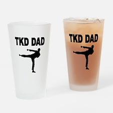 TKD DAD 2 Drinking Glass