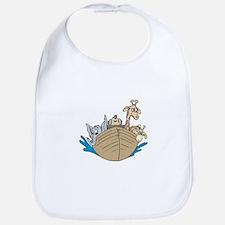 Cute Noah's Ark Design Bib