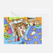 Cat 508 Greeting Card