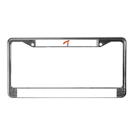 POP STAR License Plate Frame