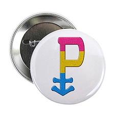 "Pansexual Symbol - Pride Flag 2.25"" Button"