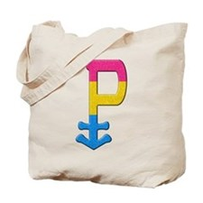 Pansexual Symbol - Pride Flag Tote Bag