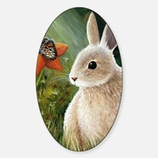 Hare 55 Sticker (Oval)