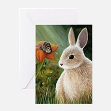 Hare 55 Greeting Card