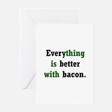 Bacon Lover Greeting Cards (Pk of 10)