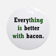 Bacon Lover Ornament (Round)