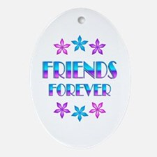 FRIENDS FOREVER Ornament (Oval)