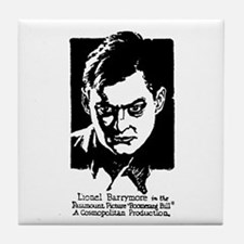 Lionel Barrymore Tile Coaster