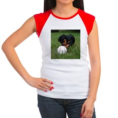 MIN PIN Women's Cap Sleeve T-Shirt