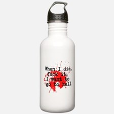 Notorious BIG Hip Hop Water Bottle