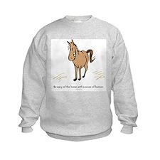 Sense of humor Sweatshirt