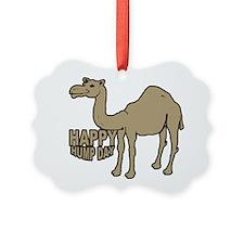Camel happy hump day Ornament