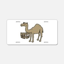Camel happy hump day Aluminum License Plate