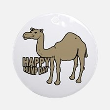 Camel happy hump day Ornament (Round)