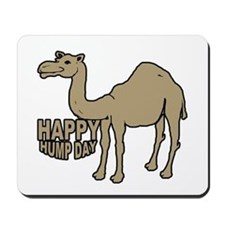 Camel happy hump day Mousepad