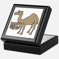 Camel happy hump day Keepsake Box