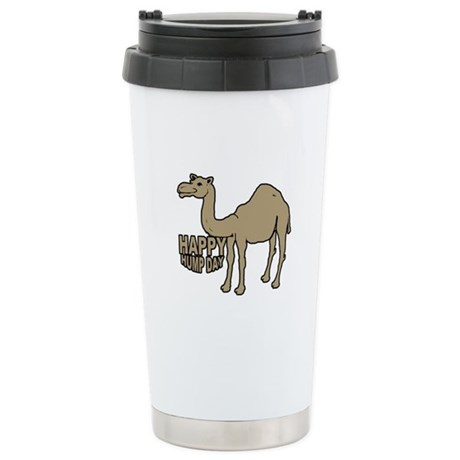 Camel happy hump day Stainless Steel Travel Mug