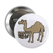 """Camel happy hump day 2.25"""" Button (100 pack)"""