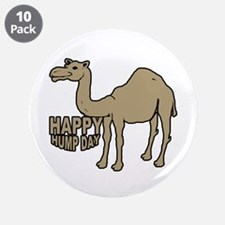 """Camel happy hump day 3.5"""" Button (10 pack)"""