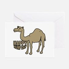 Camel happy hump day Greeting Cards (Pk of 10)