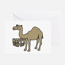 Camel happy hump day Greeting Card
