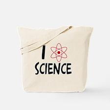 I Love Science Tote Bag