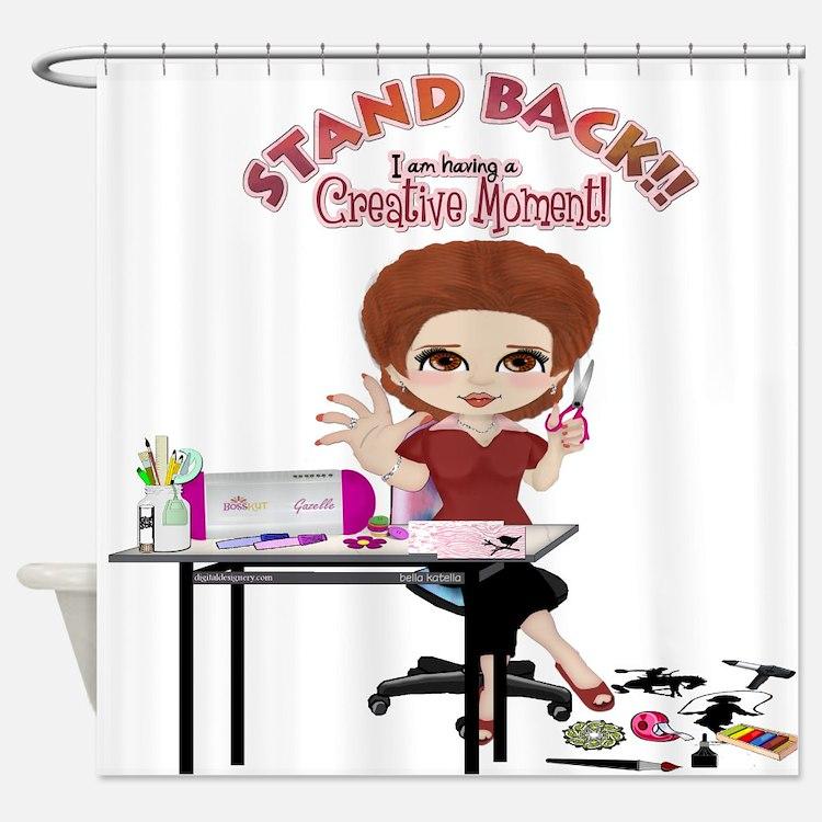 Creative Moment Shower Curtain