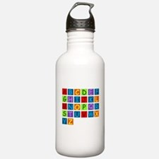ABC RAINBOW.png Water Bottle