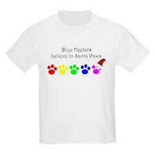 Blue Heelers Believe Kids T-Shirt