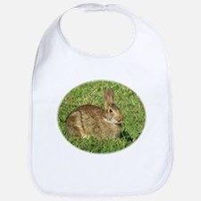 Bunny With Tongue Out Bib